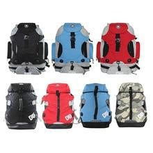 Lun hua bao DC Tundish Large Bag Backpack Skates Roller Skates Adult Men And Women Monocycle Bag