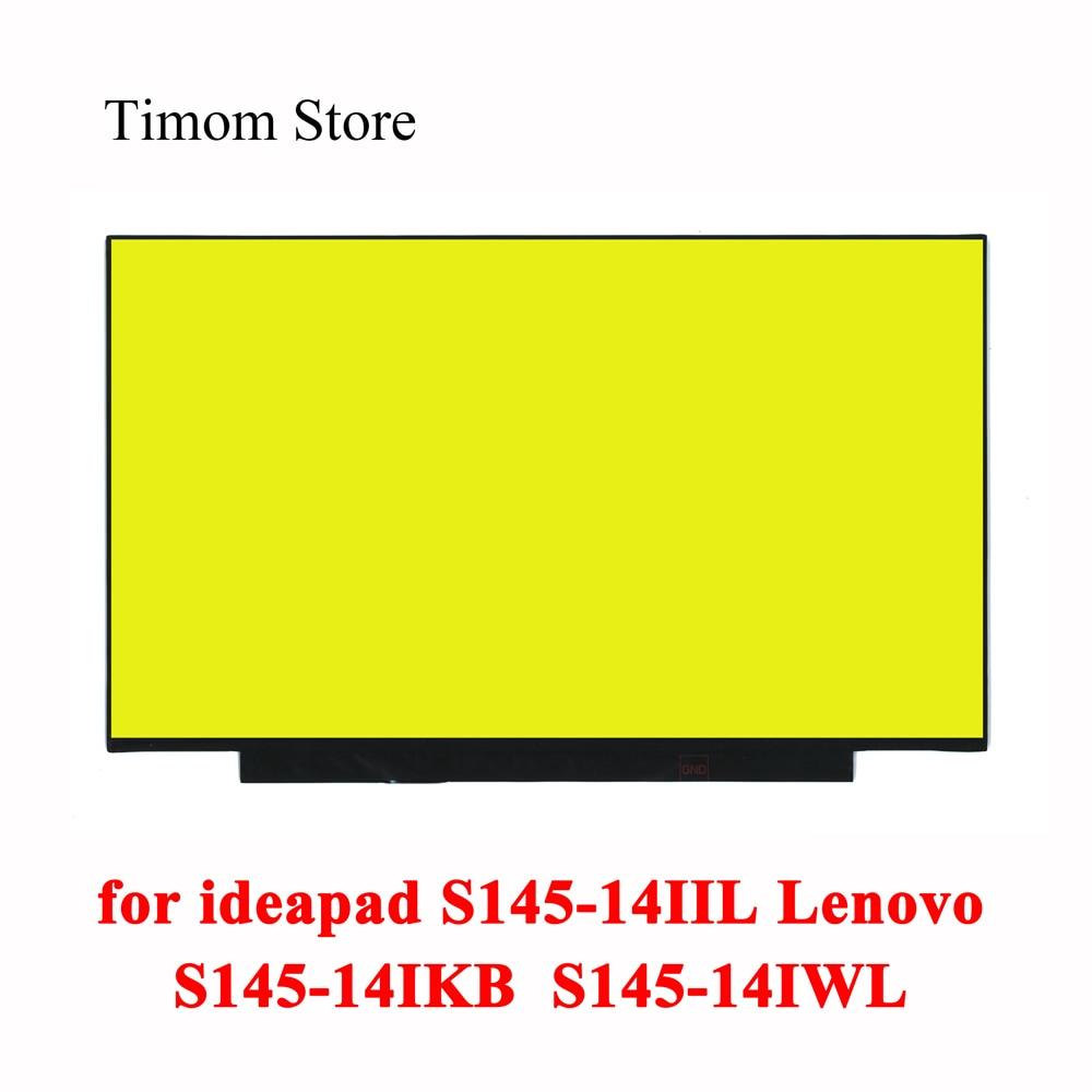 ل ideapad S145-14IIL 81W6 S145-14IKB 81VB S145-14IWL 81MU لينوفو S145-14 المحمول 14.0 LCD رصد دون ثقوب المسمار eDP 30pin