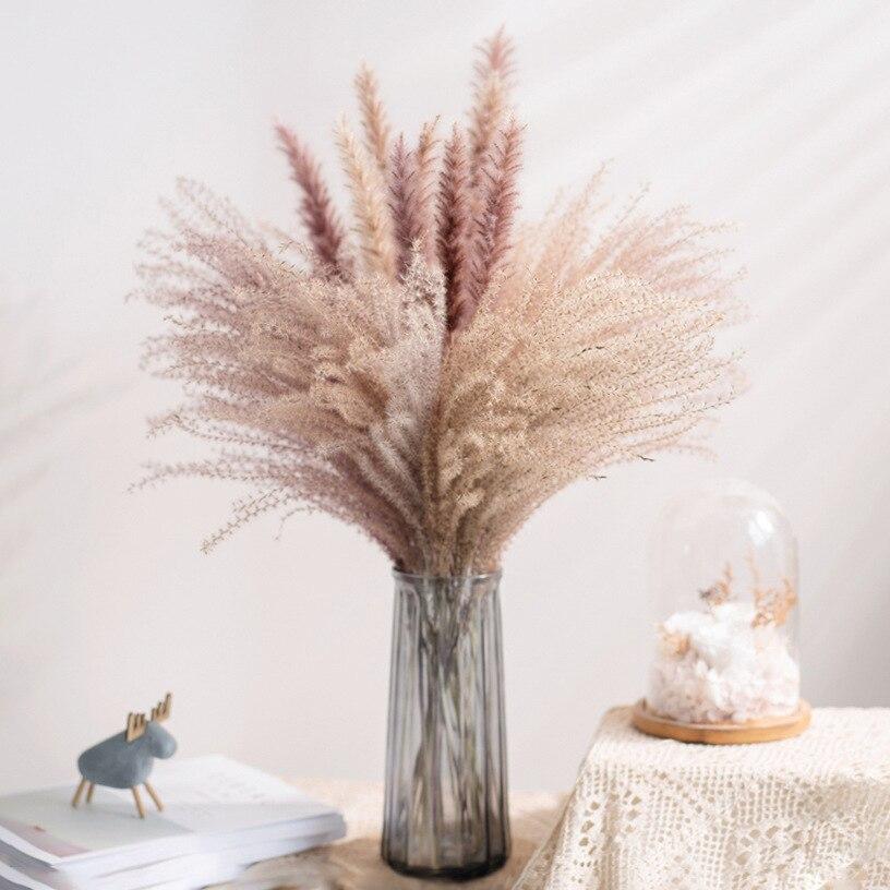 10 шт. венчик для хвоща Lagurus Ovatus пампасная трава сухие цветы естественное украшение тростник троргагмиты связка коммуникация Пампа украшение