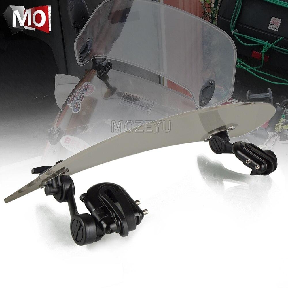 Alerón de extensión para parabrisas de motocicleta, Deflector de aire para Triumph SPEED TRIPLE R 1050 S, velocidad TWIN 1200cc TIGER 1050