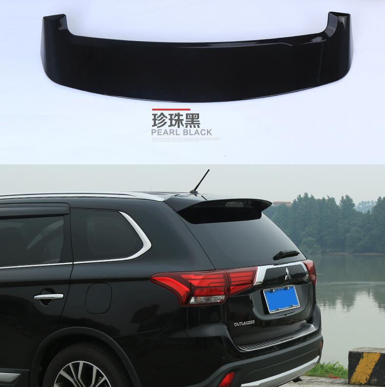 ABS de alta calidad pintura ala trasera maletero Spoiler para Mitsubishi Outlander 2016, 2017, 2018, año 2019
