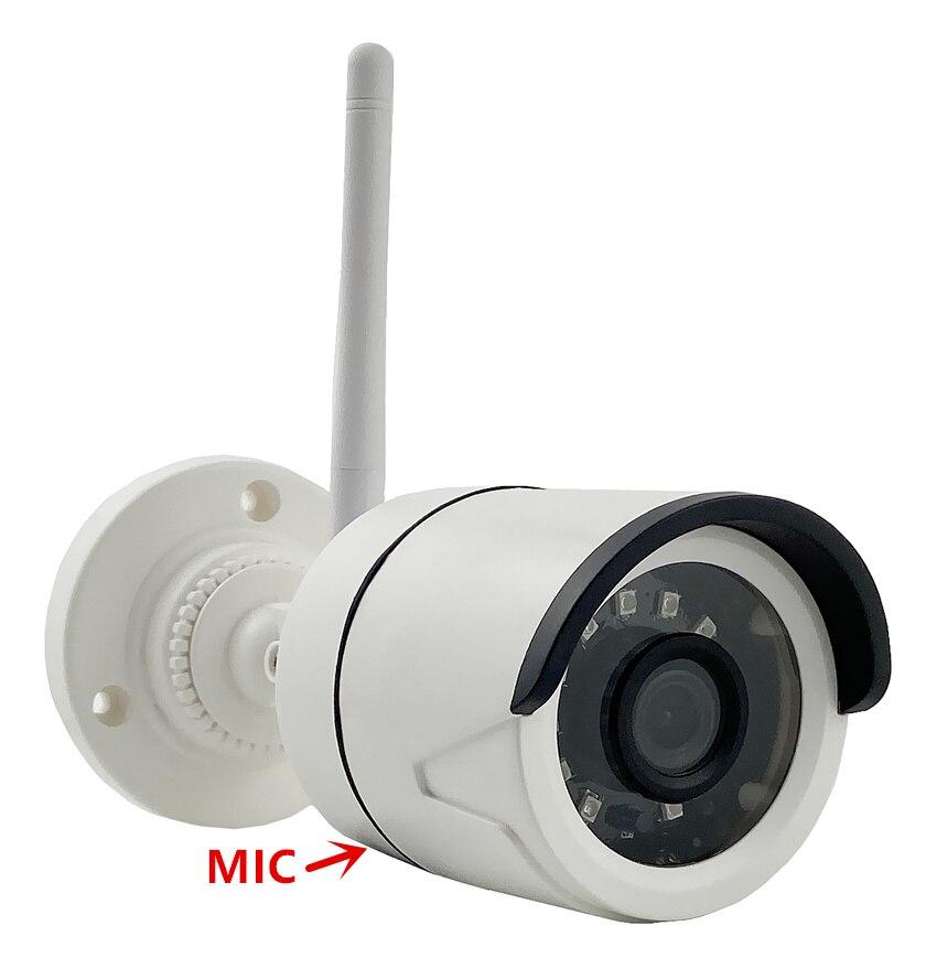 5MP 2MP WIFI AP inalámbrico cámara de bala IP integrar micrófono XM550 + SC335E 2592*1944 XM530 + F37 1080P IRC 128G tarjeta SD RTSP P2P nube