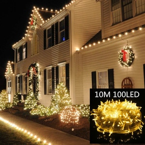 fairy lights 10m 100LED decor birthday decorations bachelorette party home decorations halloween baby shower party supplies