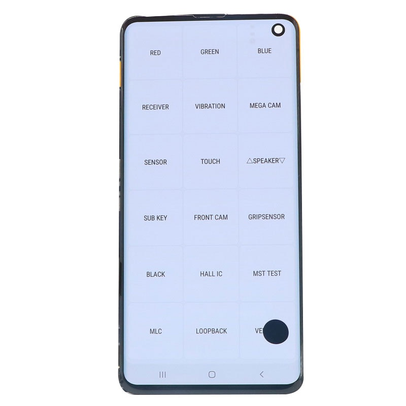 Original AMOLED LCD Display For Samsung Galaxy S10 G973 G973F/DS SM-G973 LCD Display Touch Screen Digitize Assembly With defect enlarge