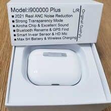 Беспроводные наушники i900000 Plus 40DB ANC TWS Airoha 1562A с функцией шумоподавления, Bluetooth-датчик, супер бас PK i900000 Pro