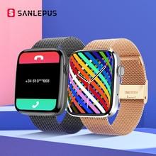 SANLEPUS 1.8 inch HD Screen Smart Watch 2021 Men Women Smartwatch GPS Trajectory Bluetooth Call For