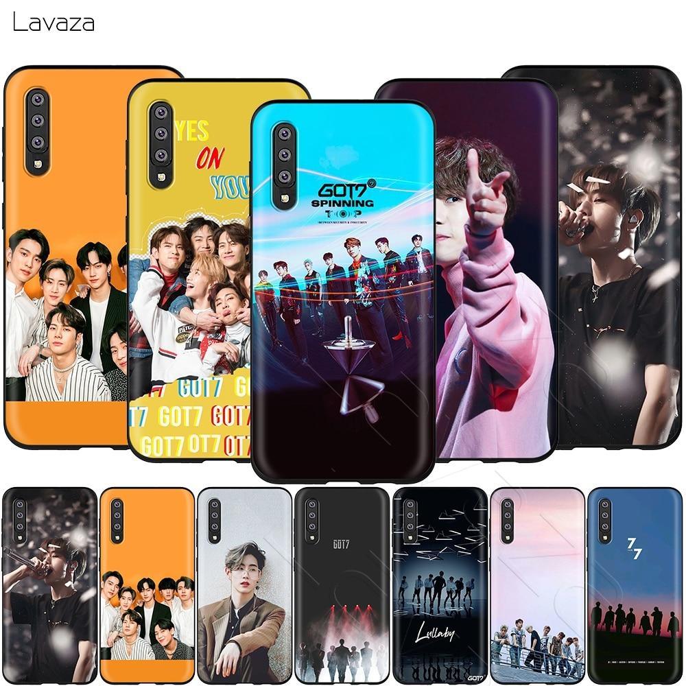 Lavaza Got7 Kpop Mark caso para Samsung Galaxy A2 J4 Core J6 J7 DUO J8 primer A20E A70S 2018