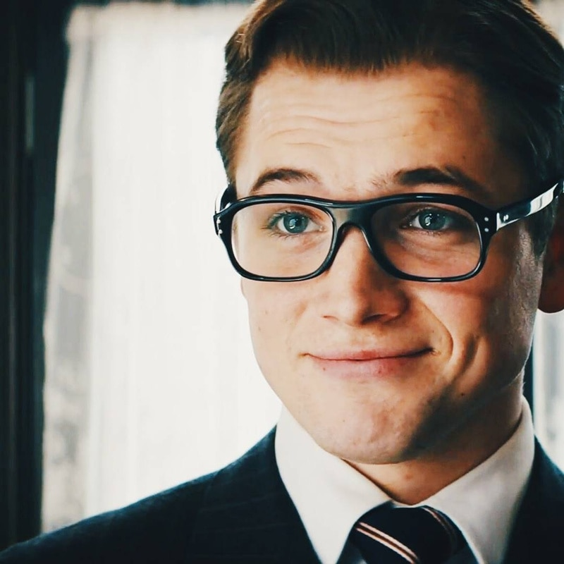 Vazrobe-نظارات Kingsman من الأسيتات للرجال ، بإطار ، بوصفة طبية عتيقة ، لقصر النظر ، فوتوكروميك