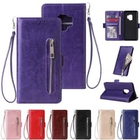 luxury retro wallet phone case for samsung galaxy a10 leather handbag bag cover for samsung a105f note 10 pro j330f j530 j730 j4