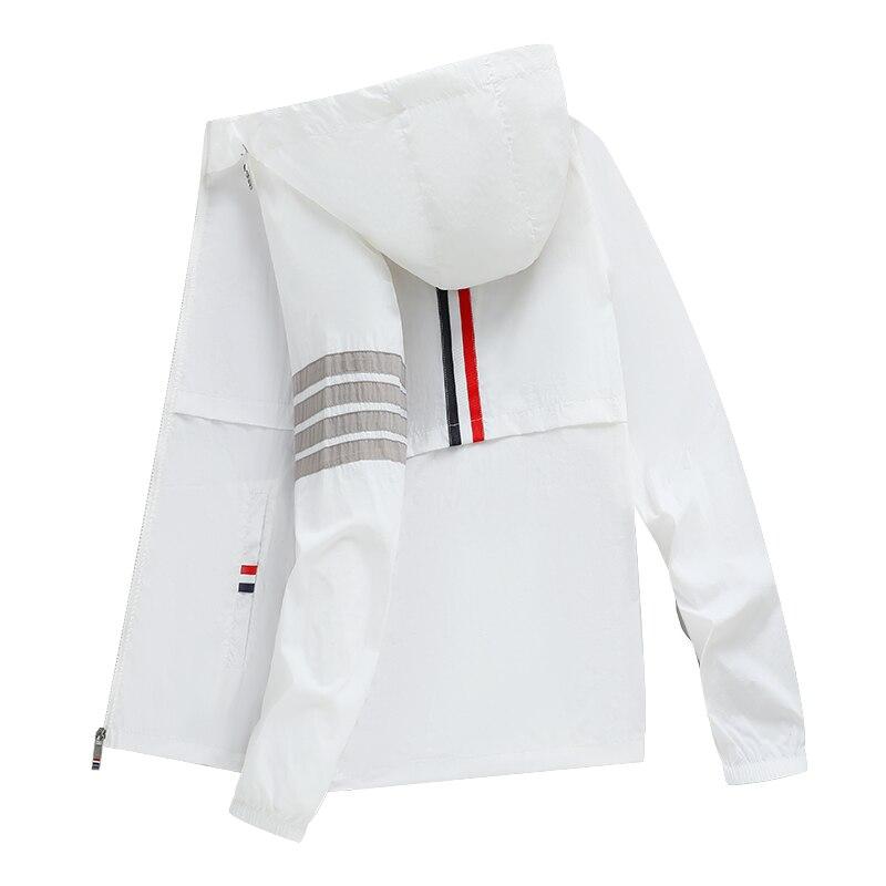 Новинка 2021, куртки, Мужская одежда, уличная одежда Techwear в стиле Харадзюку, куртка для мужчин, стильная Солнцезащитная одежда, корейская мода,...