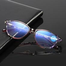 Anti-lumière bleue lunettes de lecture femmes hommes classique Anti-éblouissement ordinateur lunettes presbytes lunettes + 1.0 1.5 2.0 2.5 3.0 3.5 4.0