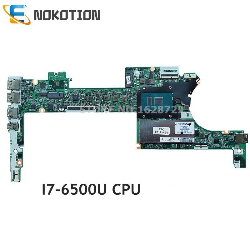 NOKOTION 861993-601, 861993-001 861993-501 para HP Spectre X360 13-4000 13-4172NA placa base de computadora portátil i7-6500U CPU 8GB de RAM