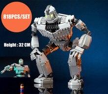 New MOC Robot The Iron Robot Fit Lepining Technic Figures Voltron Giant Model Building Blocks Bricks Kids Toys Boy Gift Birthday