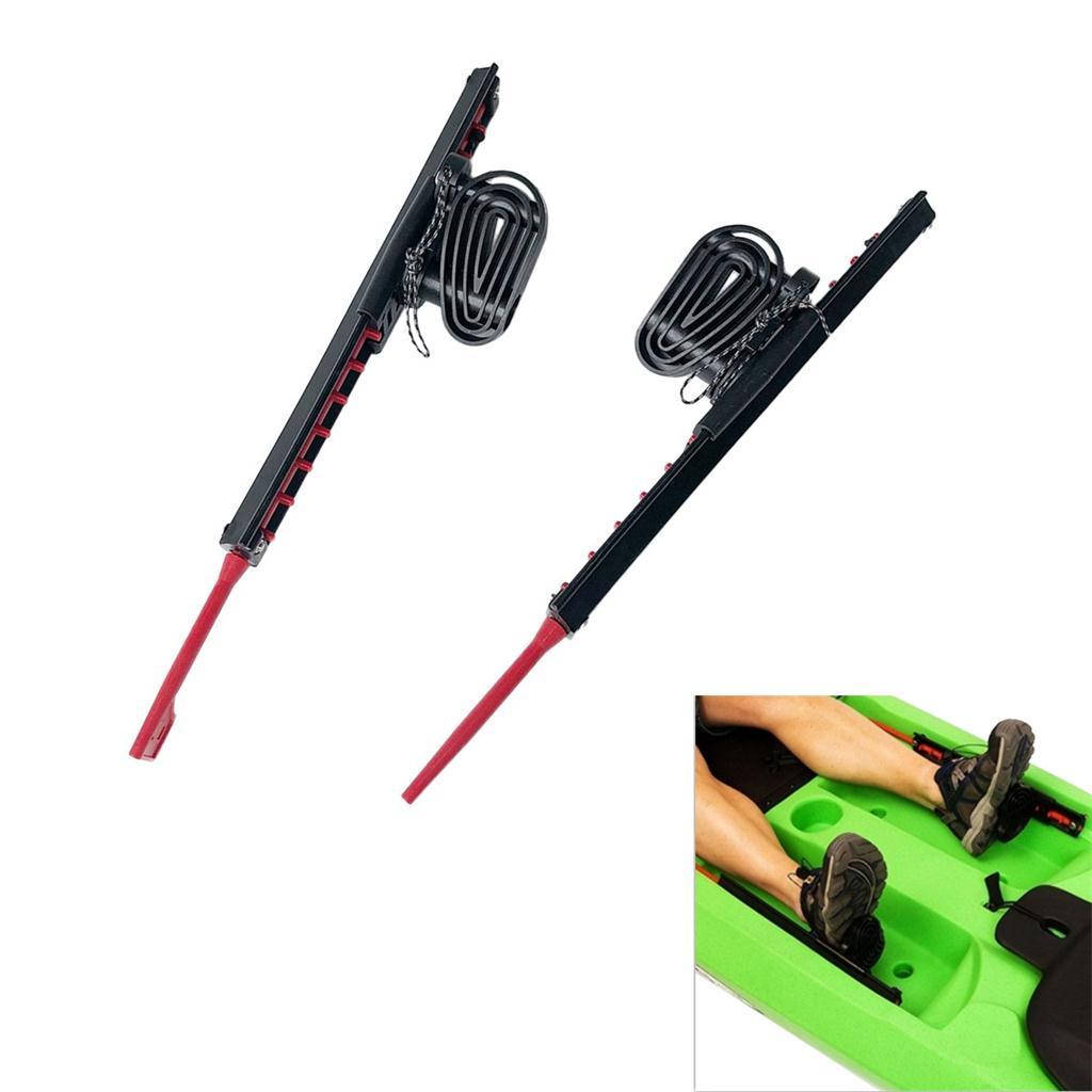 2 uds. Estacas para reposapiés de Kayak-accesorios para reposapiés de Control de bote de canoa-una gran adición A tu Kayak