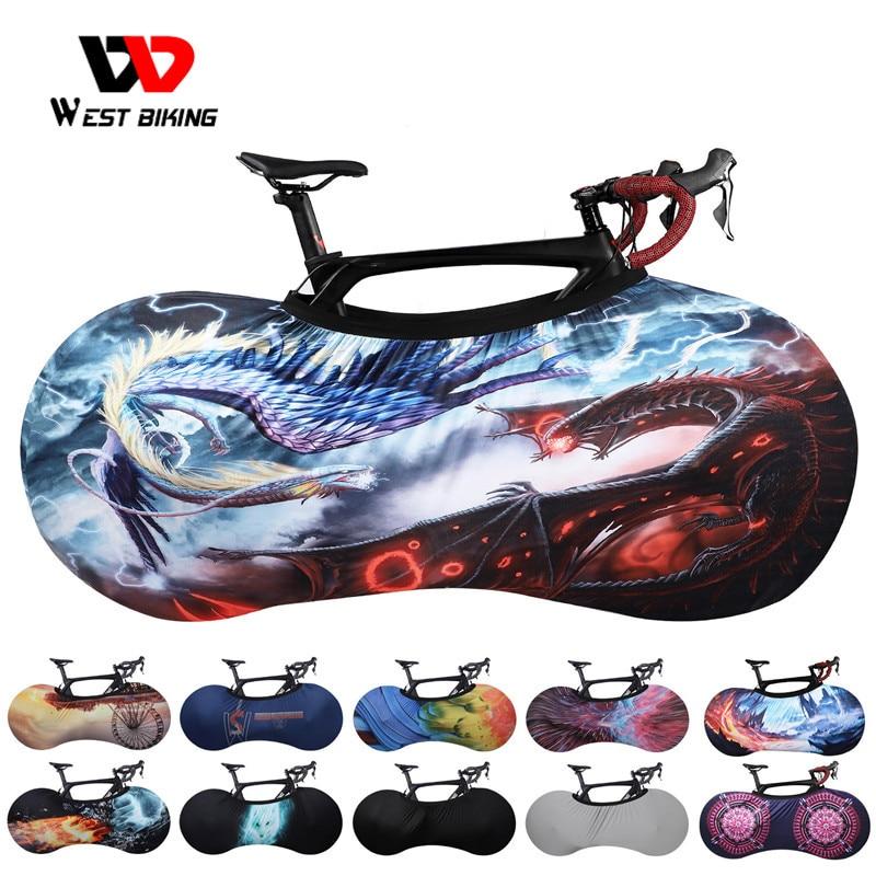 WEST BIKING MTB Road Bike Protector Anti-dust Scratch-proof Frame Wheels Cover Indoor Protective Gear 26 27.5 700C Storage Bag