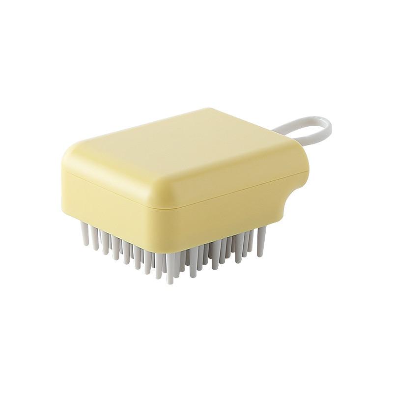 Silicone Shampoo Massage Comb Scalp SPA Hair Washing Care Body Bath Shower Comb Massager Hair Care A