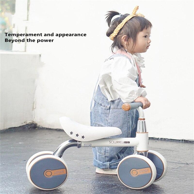 أحدث الأطفال التوازن الدراجة عداد الخطى طفل سكوتر هدية لعبة طفل سيارة النواء للأطفال