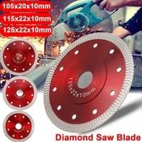 105115mm125mm diamond cutting hot pressed sintered p9m3 cutting mesh porcelain disc ceramic dry saw cutting turbo wet b v2g8