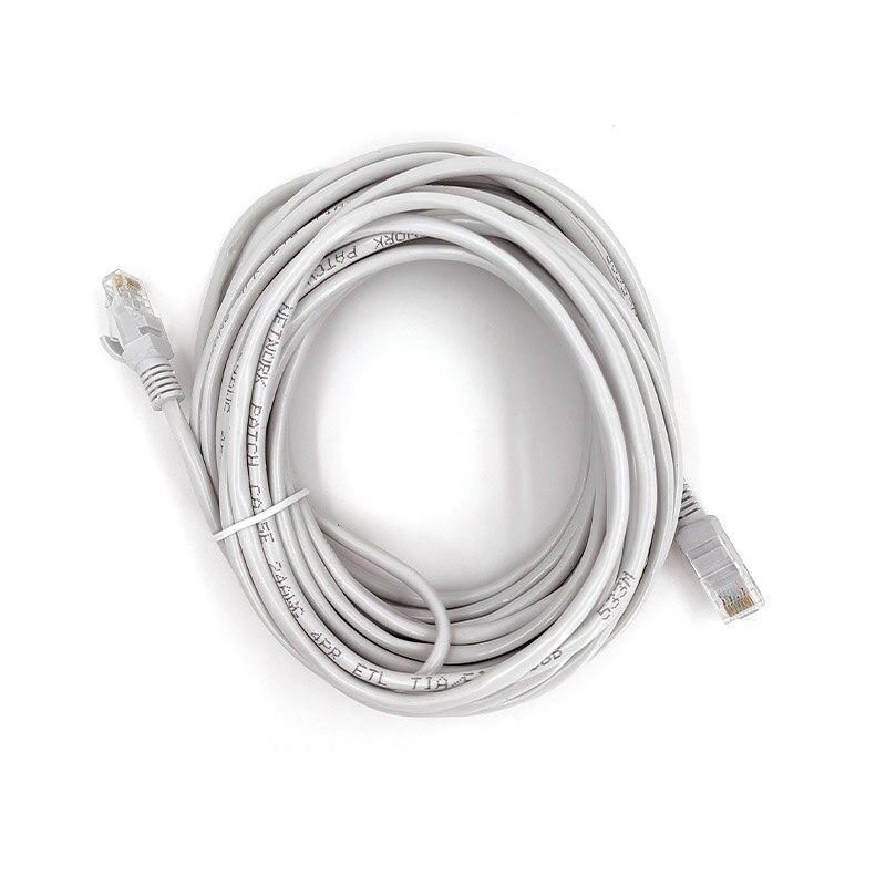 10m RJ45 Ethernet Cable de red LAN gato 5e canal UTP 4...
