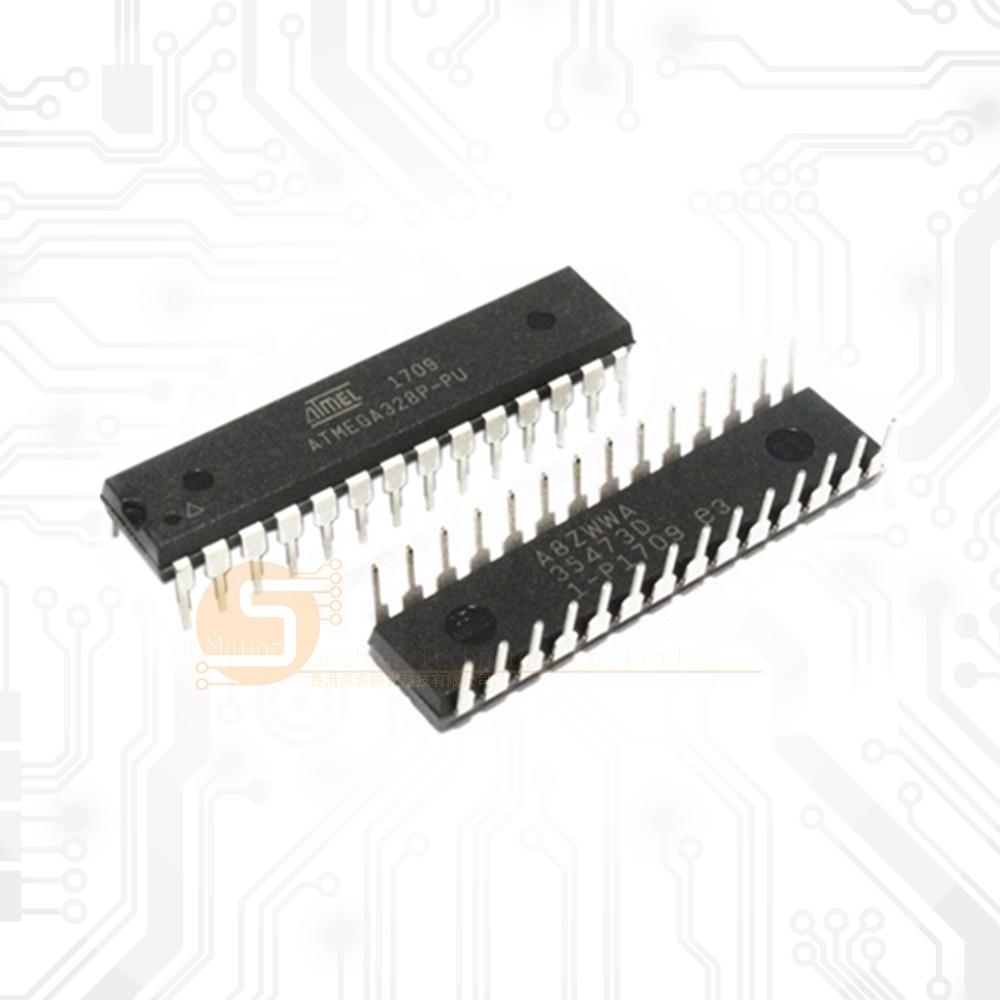 10 قطعة Atmega328 328 الأصلي Atmega328-Pu Microcontroler Mega328 متحكم Dip28 رقاقة Atmega328p-Pu Dip-28 Atmega328p بو
