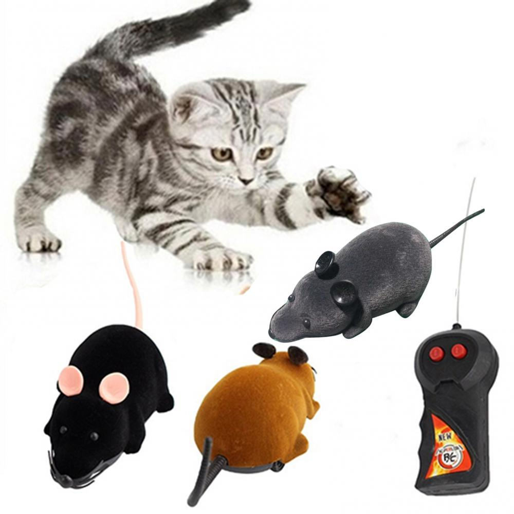 Wireless Remote Control RC Electronic Rat Cat Toys Funny Pet Toy Simulation Mouse Product Mice For Animal Cat