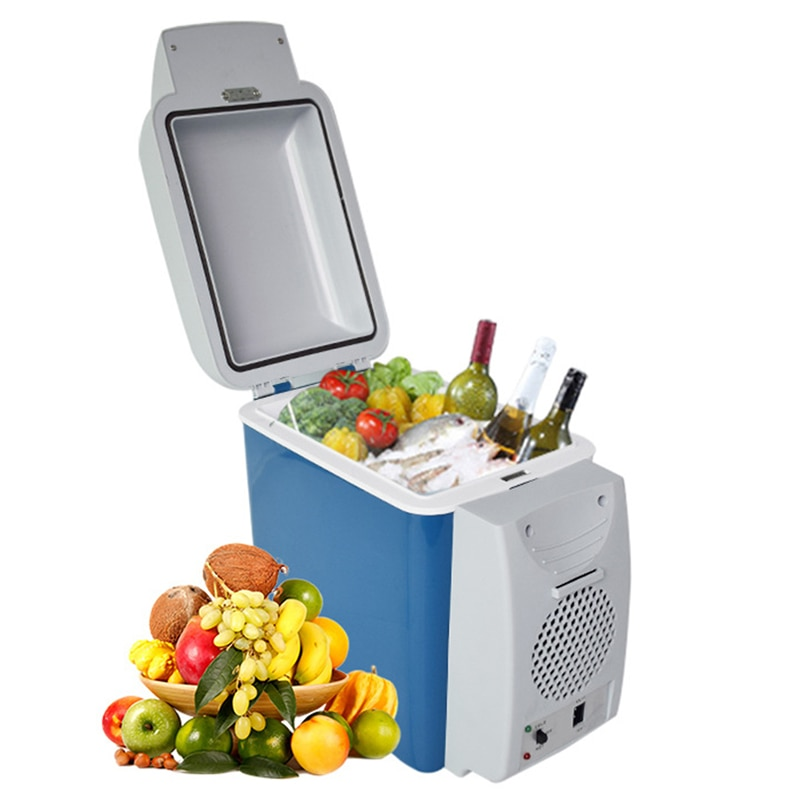 Smal Fridge 7.5L Vehicle Refrigerator Frozen Home Appliances Low Noise Heating And Cooling Tools Freezer Household Appliance