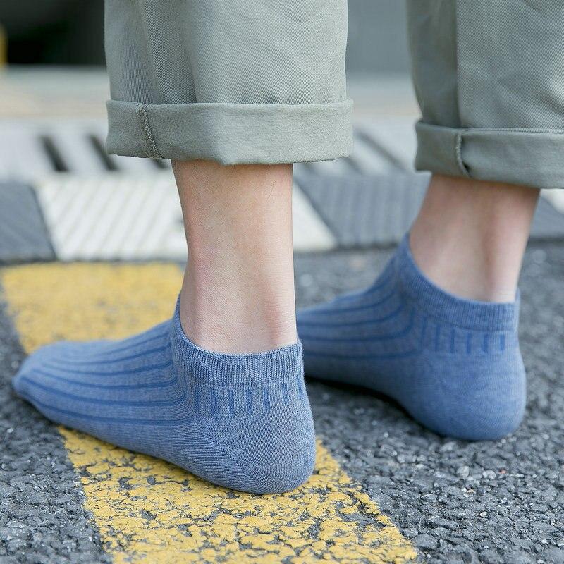 Calcetines deportivos de algodón para hombre, calcetín para deportes de acampada y Yoga, para primavera y verano