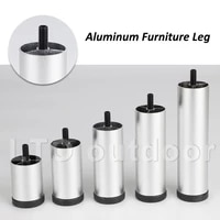 adjustable metal furniture legs replacement for sofa office desk sofa cabinet tv foot furniture foot silver
