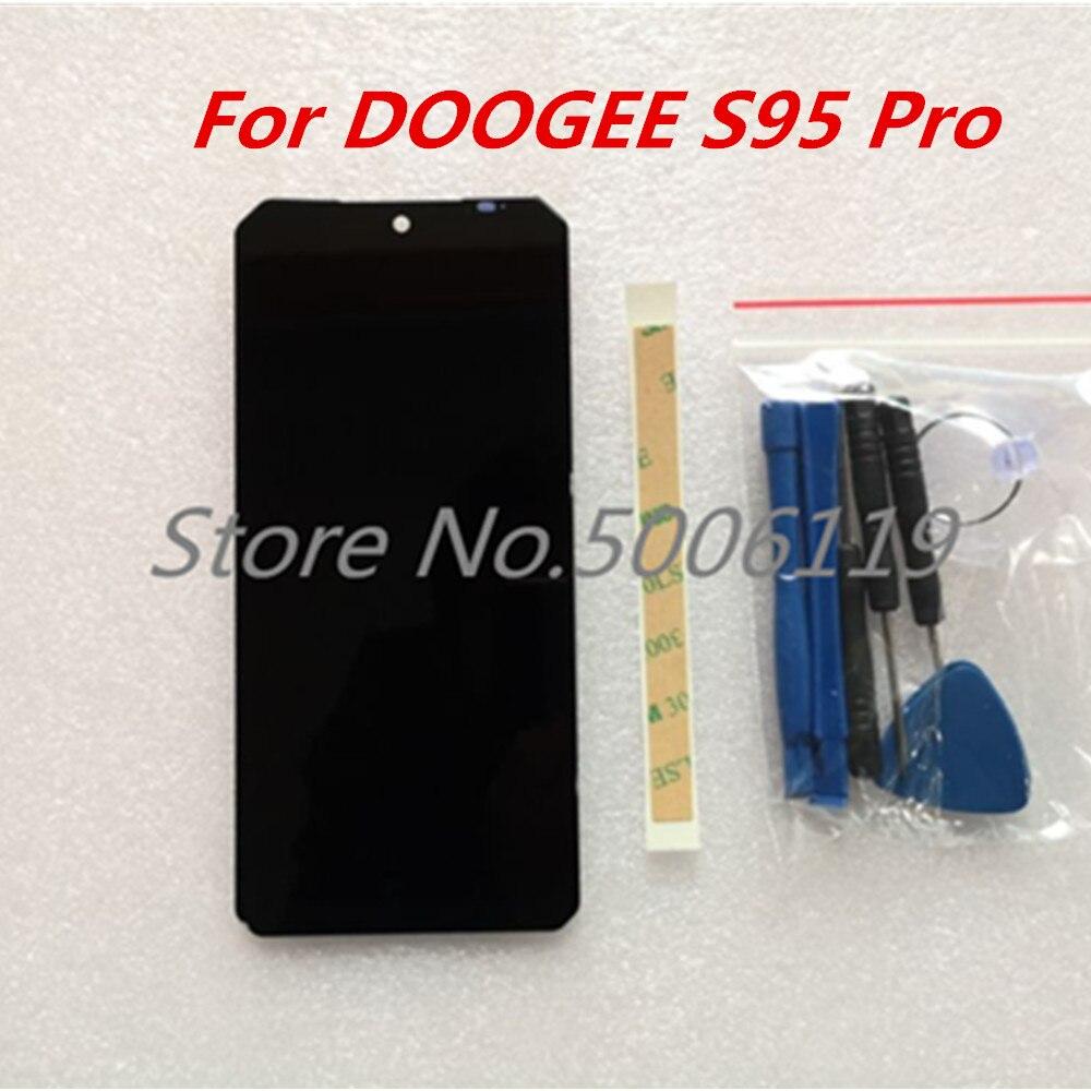 Vidrio de repuesto Original para doogee-s95 Pro, pantalla LCD de 6,3 pulgadas, 1080x2160, montaje de digitalizador con pantalla táctil para doogee-s95