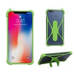 Caso Universal para Samsung Galaxy A51 M11 Capa Bumper Borracha Suporte Do Telefone Móvel de Silicone Macio para Samsung Galaxy M21 Em mão