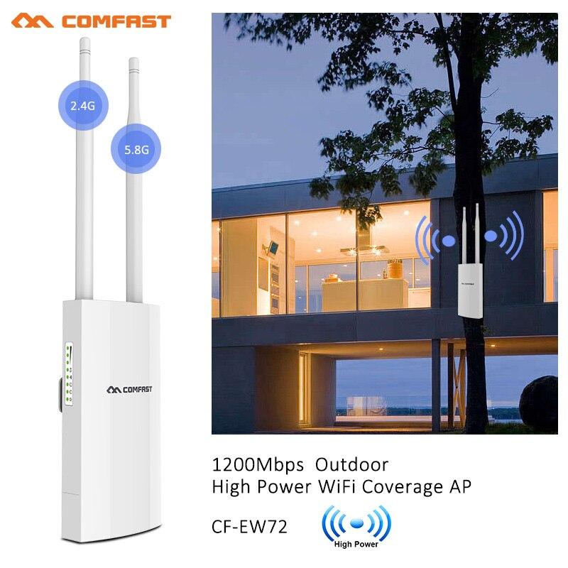 comfast estacao de acesso omnidirecional 5ghz banda dupla de alta potencia 1200mbps
