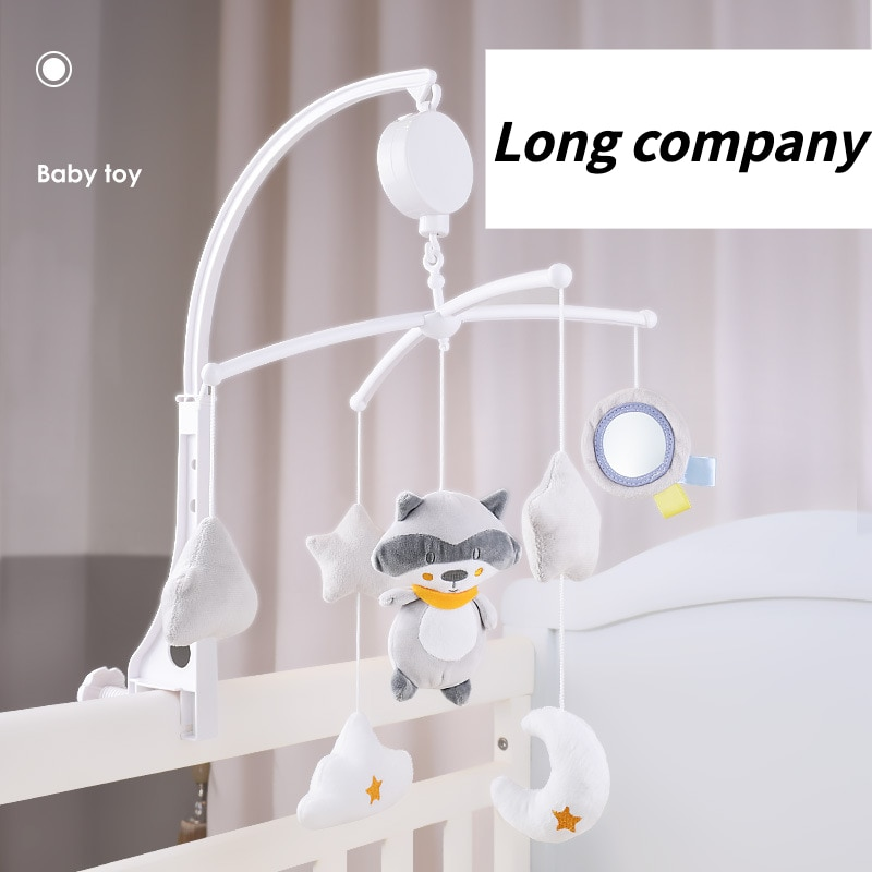 Baby Bed Bell Ringing Children 0-1 Years Old Rotating Bedside Bell Baby Comfort Cloth Toys  Baby Toys Educational