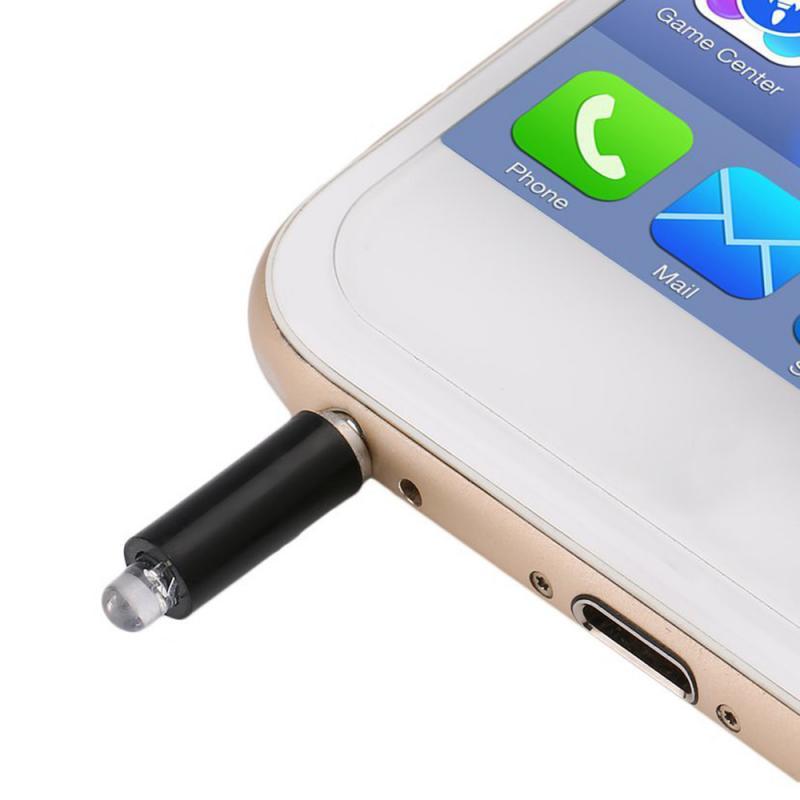Universal 3,5mm Teléfono Móvil Inteligente infrarrojo IR Control remoto Jack Mini enchufe de Control remoto inteligente para IPhone X 11 IOS