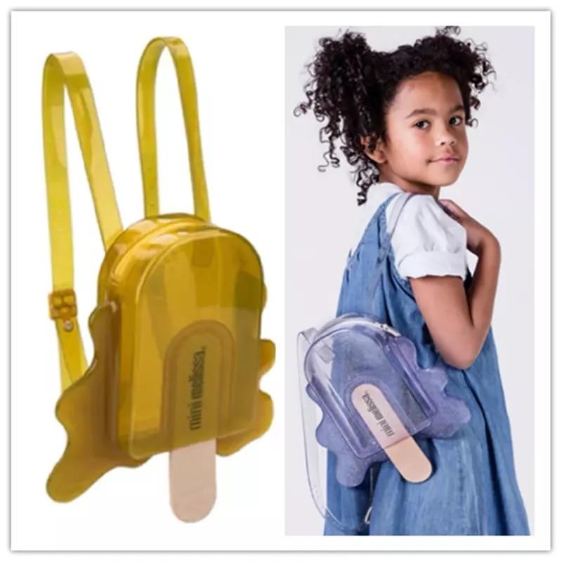 Diseño a la moda, Mini mochila para niña, bolsa Original de gelatina de paleta 2020, nueva mochila para niñas, bolso de hombro para regalo de cumpleaños