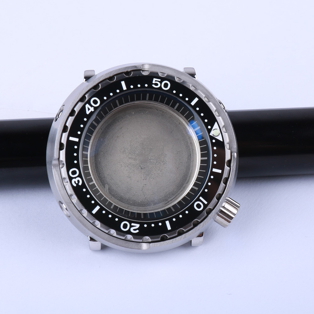 Mod 20ATM المياه برهان التونة الغوص ساعة صالح لل Seiko NH35 NH36 حركة السيراميك الحافة إدراج رجل ساعة إصلاح