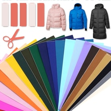 T-N Down Cotton Jacket Self Adhesive Sticker Patches PVC Waterproof Material Can Washable Appliques