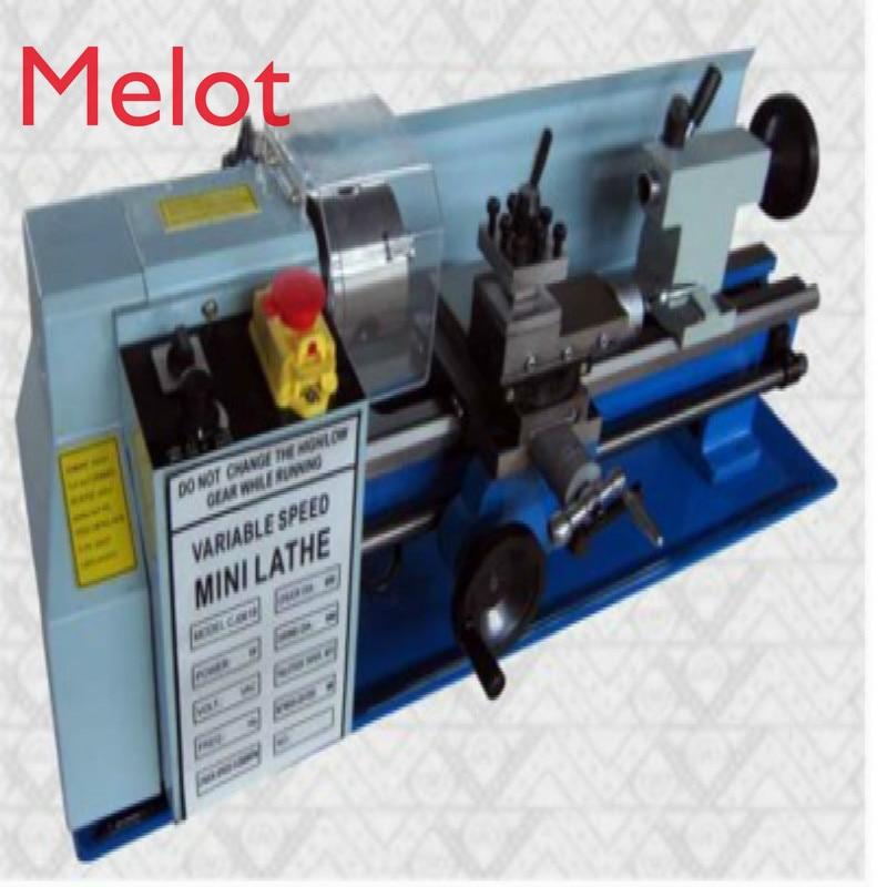 0618 Miniature Lathe Household Small Lathe Metalworking Stainless Steel Lathe Buddha Beads Machine Kit Tool Sale enlarge