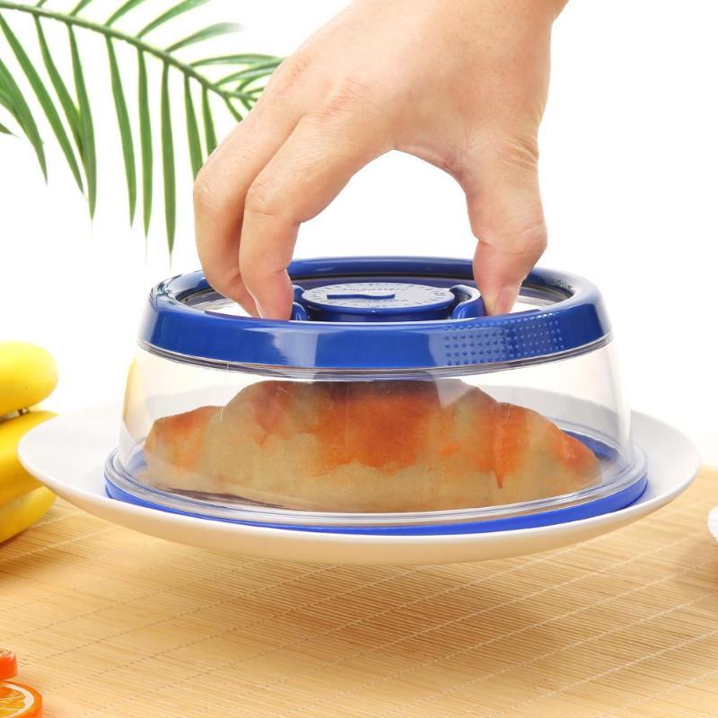Sellador de alimentos al vacío cubierta de cocina instantánea fresca de conservación de frutas al vacío envoltura de alimentos cubierta de tazón de cocina hogar herramientas de cocina
