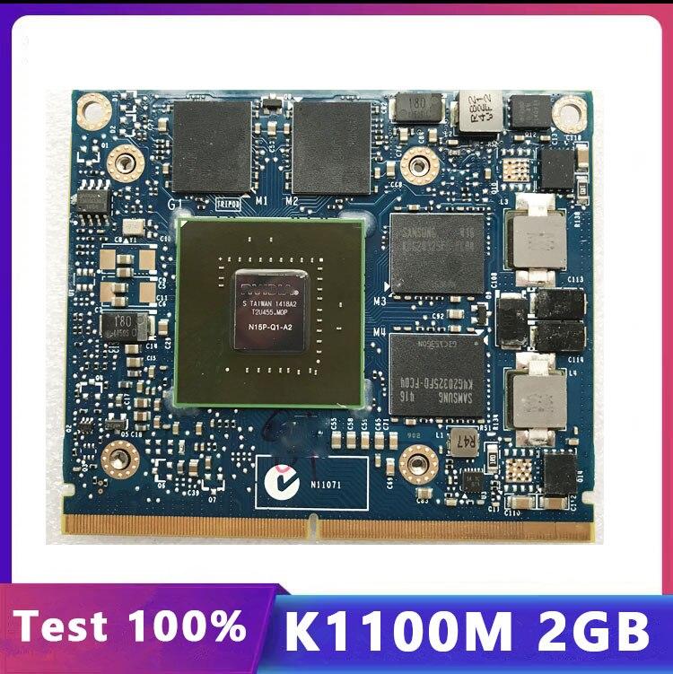 كوادرو K1100M K1100M عرض Vga بطاقة جرافيكس N15P-Q1-A2 لديل M4600 M4700 M4800 HP 8570W 8770W ZBook15 G1 G2