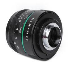 Unité de téléobjectif 25mm F1.8 C mountpaysage Portrait photographie à mise au point fixe objectif dappareil photo sans miroir pour Sony len pièces appareil photo