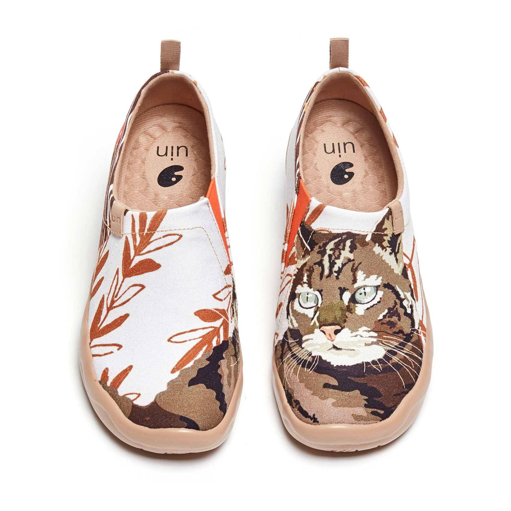 UIN-أحذية رياضية نسائية خفيفة الوزن سهلة الارتداء ، أحذية مشي ، أحذية سفر ، أحذية بدون كعب ، كلب لطيف