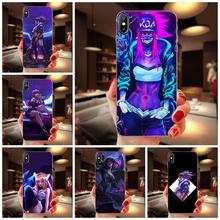 Lol Kda Kaisa Ahri Akali For Galaxy Note 10 A10E A10S A20S A30S A40S A50S A6S A70S A730 A8S M10S M30S Lite Plus