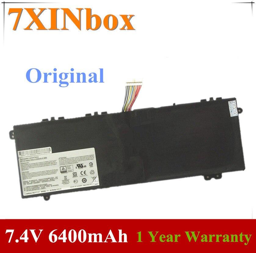 7 BTY-S37 XINbox 7.4V 6400mAh Original Bateria Do Portátil Para MSI GS30 2M 001US 2M-013CN MS-13F1 MS1-13F1