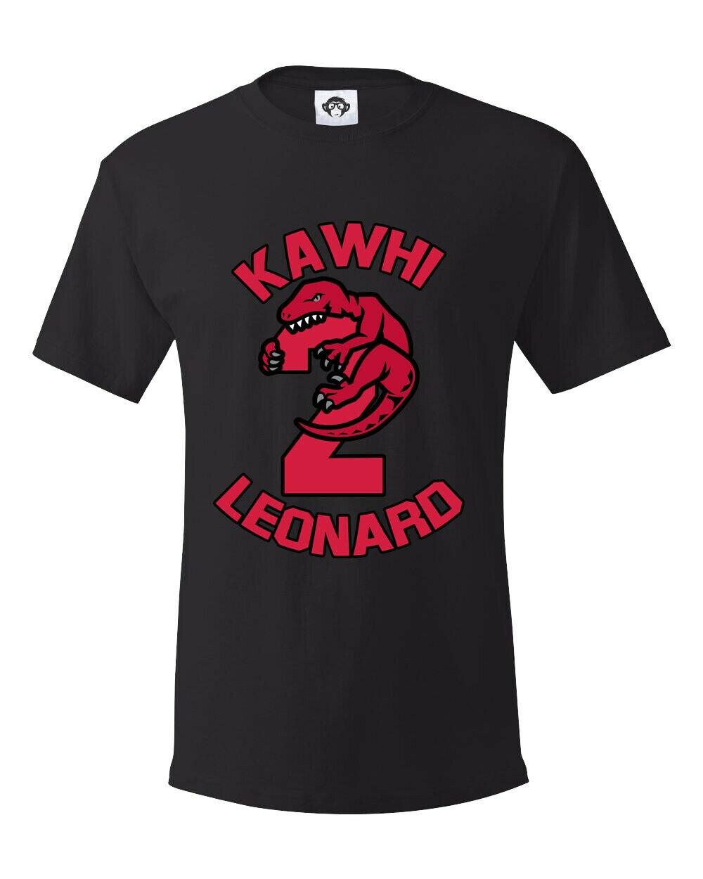 Kawhi Leonard, baloncesto, camiseta Toronto Raptors, camiseta de moda nueva Unisex Casual Cool camisetas de alta calidad para hombre