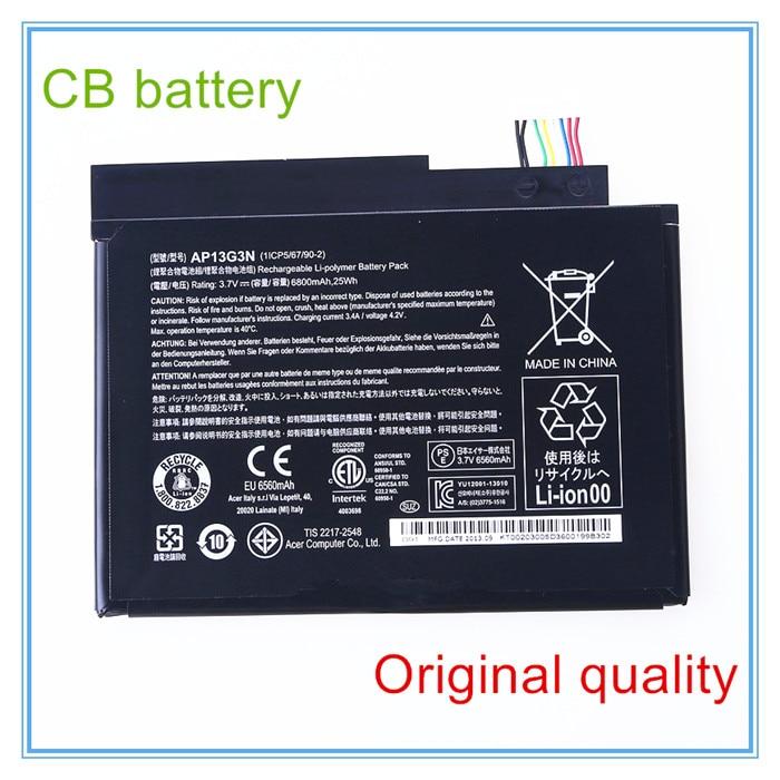 6800mAh Original Laptop Battery AP13G3N For W3-810 Tablet 8' Series 1 Cell 3.7V 25WH