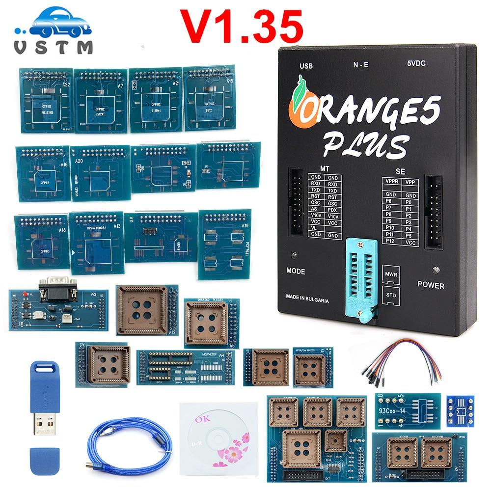 Best Price Orange5 Plus V1.35 Newest Programmer OEM orange5 With Full Adapter orange5 programmer High Quality Orange 5