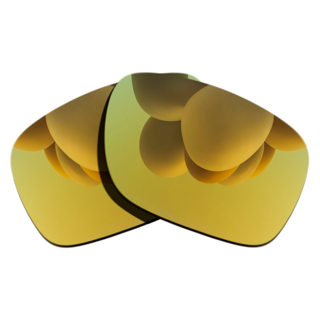 24K Gold Polarized Sunglasses Replacement Lens for-Oakley Ray-Ban RB4165-54mm Frame 100% UV Protecti