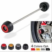 NICECNC-protecteur daxe de roue avant   Pour Aprilia RSV4 RR RF usine Tuono V4 1100 Shiver SL Dorsoduro 900 750-2011