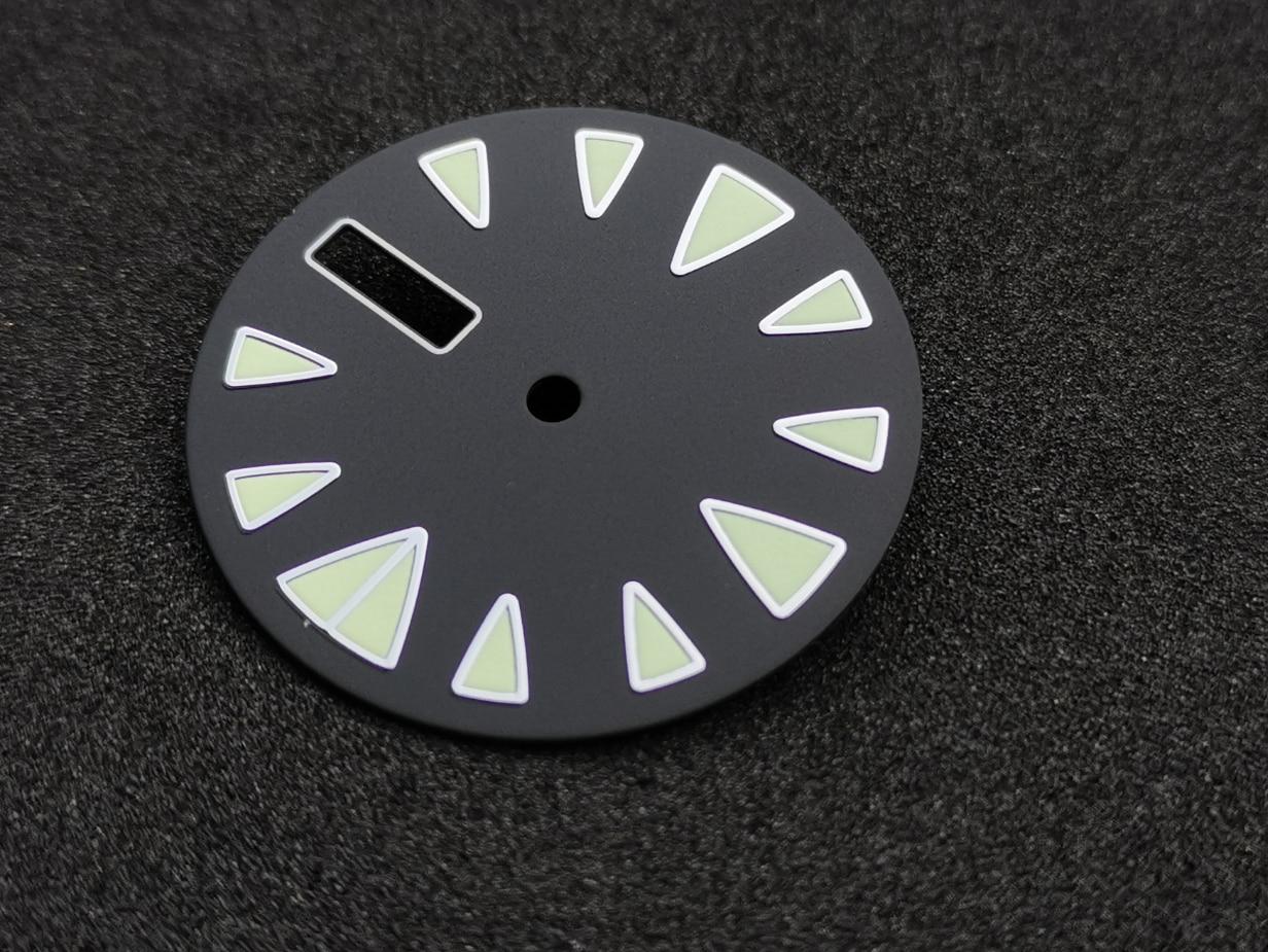Movimiento NH36 SKX007/009 kelpie modificado SBBN033/SBDX017 Japón Super C3 Esfera luminosa 28,5mm