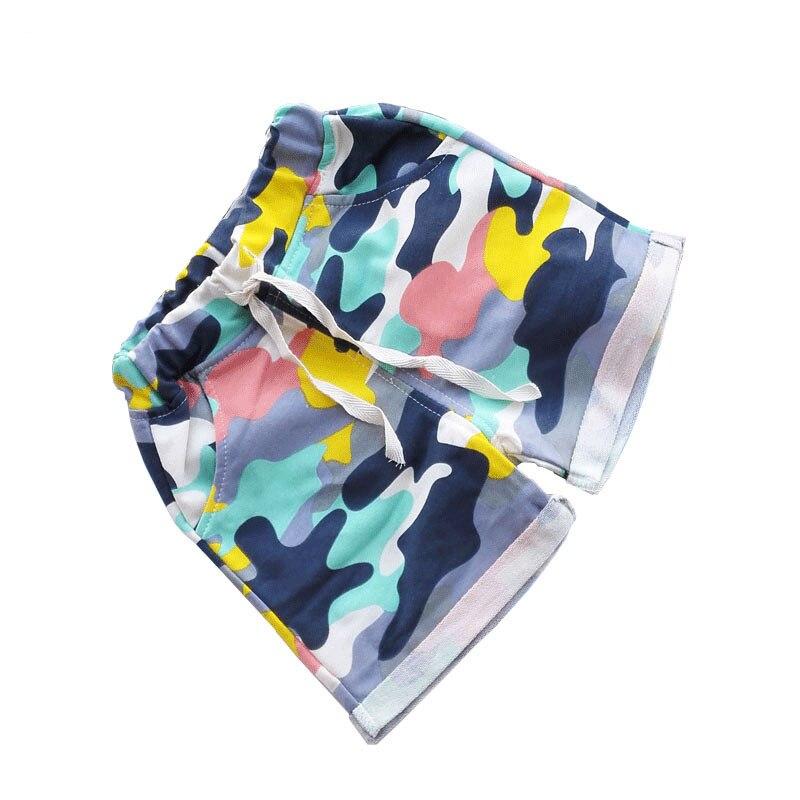 Pantalones cortos de camuflaje de verano para niños, pantalones de playa para niños, pantalones cortos de playa deportivos para bebés